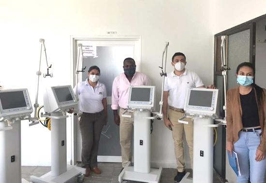 Hospital de Quilichao recibió 4 UCI para enfrentar la pandemia en el norte del Cauca