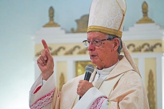 Iván Antonio Marín, arzobispo emérito y administrador apostólico de Popayán