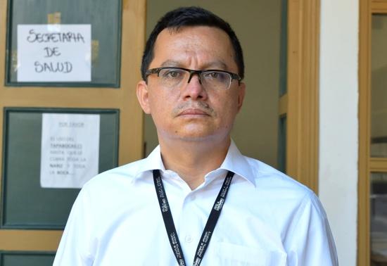 Jesús Alberto Meléndez Secretario, de Salud Municipal Santander de Quilichao