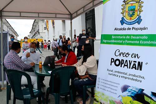 Jornada de acceso a la línea de crédito 'Popayán Responde'