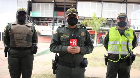 Juntos por una Quilichao limpia y bonita - ´Mayor Nelson H. Pérez, comandante de la Estación de Policía de Santander de Quilichao.