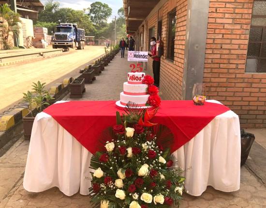 Ladrillera Meléndez conmemora 25 años de labor y compromiso en el norte del Cauca