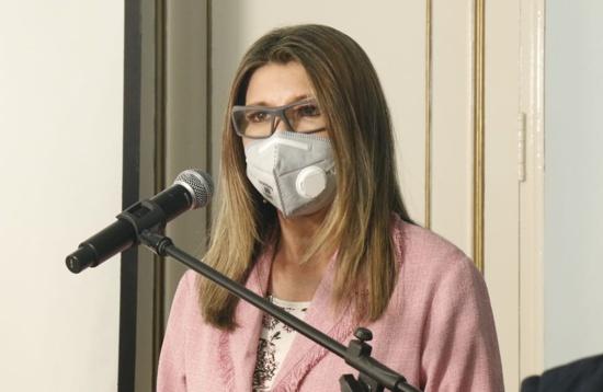 Secretaria de Salud Departamental del Cauca, Lida Mera Paz