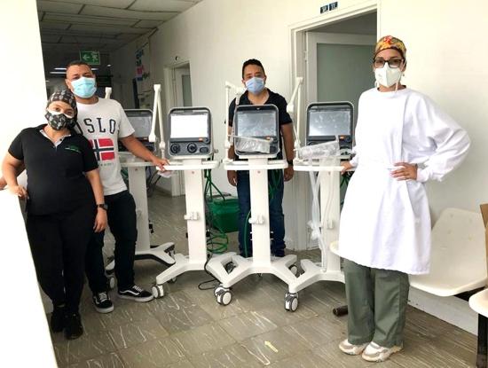 Llegan 50 nuevos ventiladores al Cauca para la atención de la pandemia