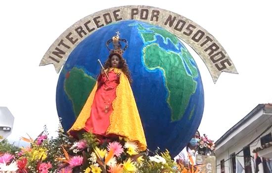 Niña María de Caloto intercede por nosotros