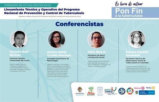 Pon fin a la Tuberculosis en el Cauca - Conferencistas
