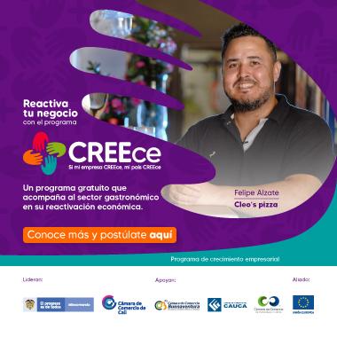 Reactiva tu negocio con el programa CREEce