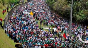 Marcha nacional por la Vida convocada por el Movimiento AISO