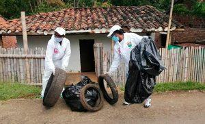 Se recolectan cerca de tres toneladas de inservibles para prevenir el Dengue