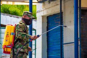 Administración Municipal comprometida con la desinfección de las plazas de mercado