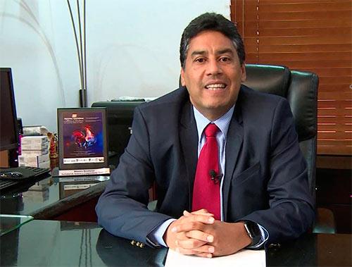 César Ahumada, gerente de Sayco