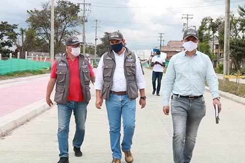 Calle 25 Norte es una realidad, Alcaldía de Popayán notifica finalización de obra