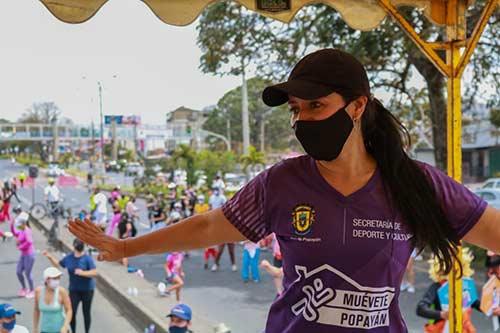 Continúa el éxito de la ReCreoVia en Popayán