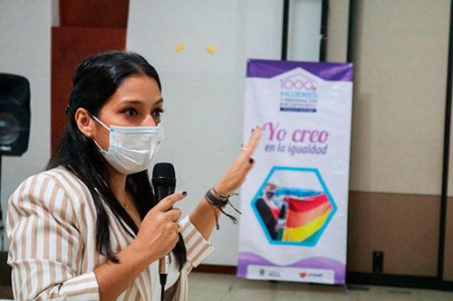 Culminó satisfactoriamente la etapa de formación a personas beneficiarias del Programa 1000 Mujeres