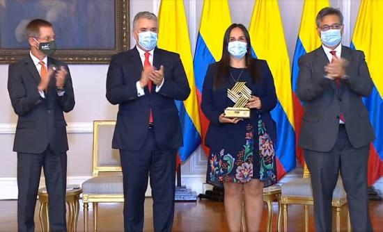 Sobre el premio a la alcaldesa de Santander de Quilichao