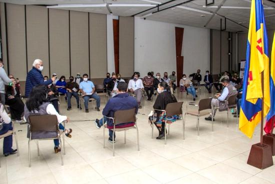 Alcaldía y JAC trabajan para priorizar obras para comunas de Popayán - Presupuesto Participativo