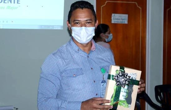 Alexander Sánchez Paz, gerente de la ESE Suroccidente - Cauca