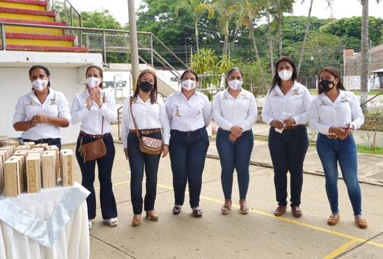 Algunas mujeres que integran la Administración Municipal de Santander de Quilichao
