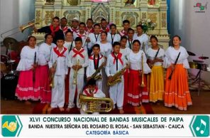 Cauca participa en concurso nacional de bandas musicales