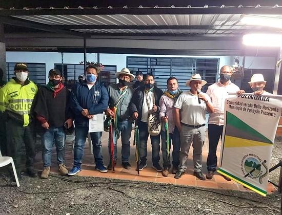 Comisión de diálogo entre Gobierno e indígenas de Polindara