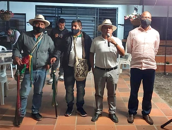 Crearán comisión de diálogo entre Gobierno e indígenas de Polindara.