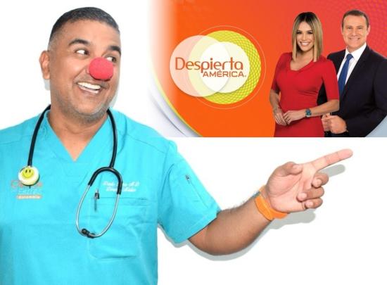 Dr sin Stress - Danilo Barco en Despierta América de Univisión
