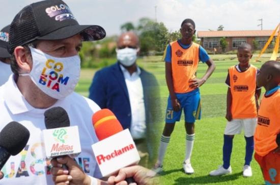 El Cauca es fuente inagotable de talento deportivo - Ministro del Deporte Ernesto Lucena