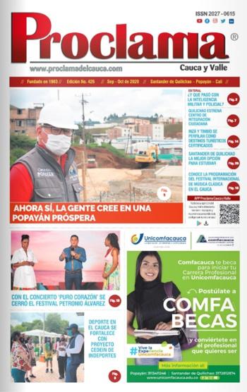 Edición Impresa #426 de Proclama Cauca y Valle