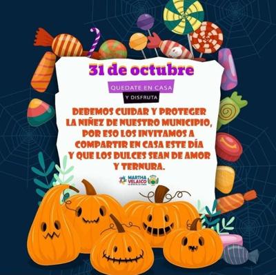 Este 31 de octubre quédate en casa y protege a tus niños - Alcaldía de Corinto