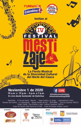 Festival de Mestizaje - 1 de noviembre de 2020