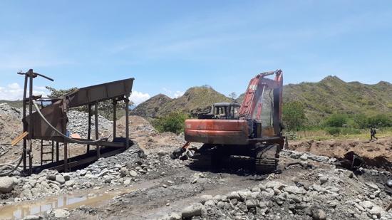 Golpe contra la minería ilegal en Bolívar