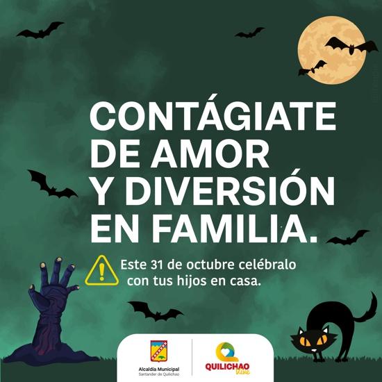 Toque de queda en Halloween en Santander de Quilichao