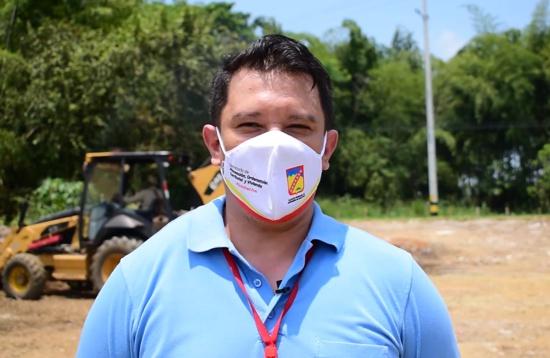 Javier Alberto Hernández Prieto, director técnico de Vivienda de Santander de Quilichao