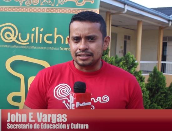 Jhon Edwin Vargas Calambás, secretario de Educación de Santander de Quilichao