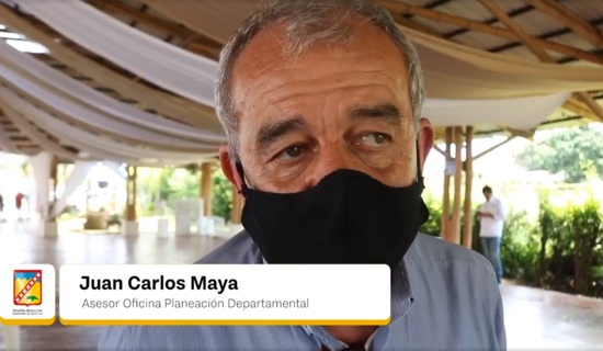 Juan Carlos Maya - Asesor Oficina de Planeación Departamental del Cauca