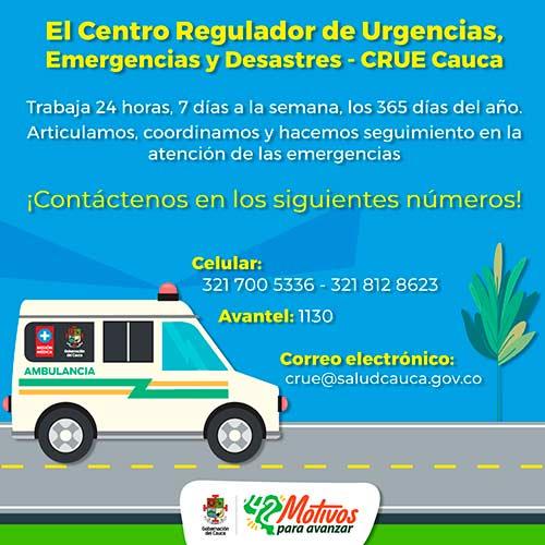 Se declara Alerta Amarilla en la red hospitalaria del Cauca