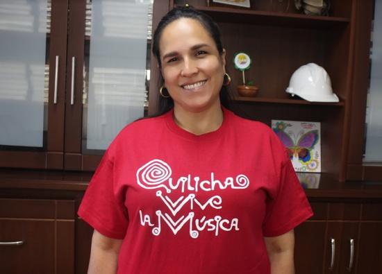 Lucy Amparo Guzmán - Alcaldesa de Santander de Q. - Quilichao Vive la Música