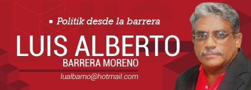 Luis Alberto Barrera - Politik desde la barrera