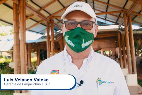 Luis Velasco Valcke - Gerente Emquilichao E.S.P.