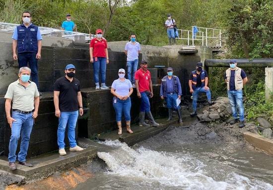 Optimizan prestación de servicio de agua potable en Corinto