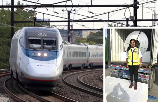 Quilichagueña gana premio en la industria ferroviaria en EE.UU.