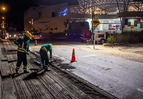 Administración Municipal continúa con la recuperación de la malla vial de Popayán
