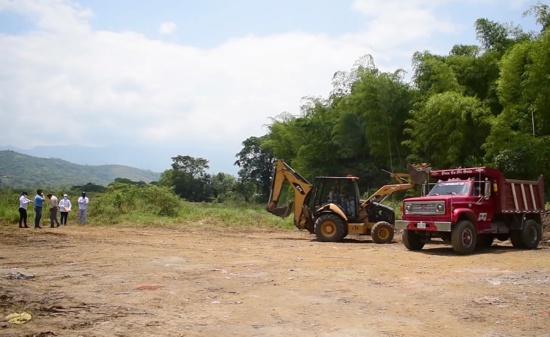 Se reactivó obra para adecuar lotes de la Urbanización Villa María en Santander de Quilichao