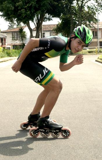 Sebastían Guzmán - Club de Patinaje Real Skate - Popayán