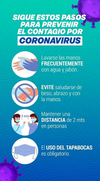 Sigue estos pasos para prevenir contagio del coronavirus en Quilichao