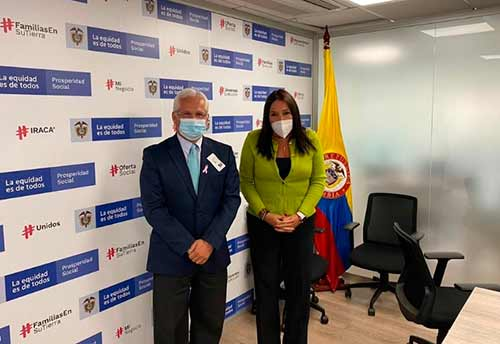 Alcalde López Castrillón presenta ante DPS proyectos de alto impacto para Popayán