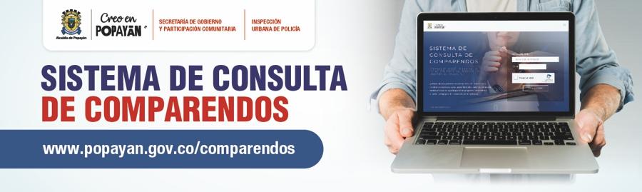 Sistema de Consulta de Comparendos - Alcaldía de Popayán