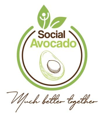 "Social Avocado: ""Much Better Together"" - (""Mucho Mejor Juntos"")."