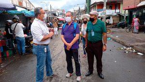 Secretaría de Tránsito atiende llamado de sector de La Esmeralda en temas de movilidad