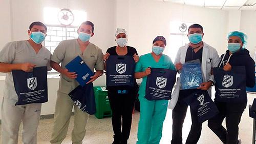 El servicio del Hospital San José exalta el trabajo de su equipo de colaboradores